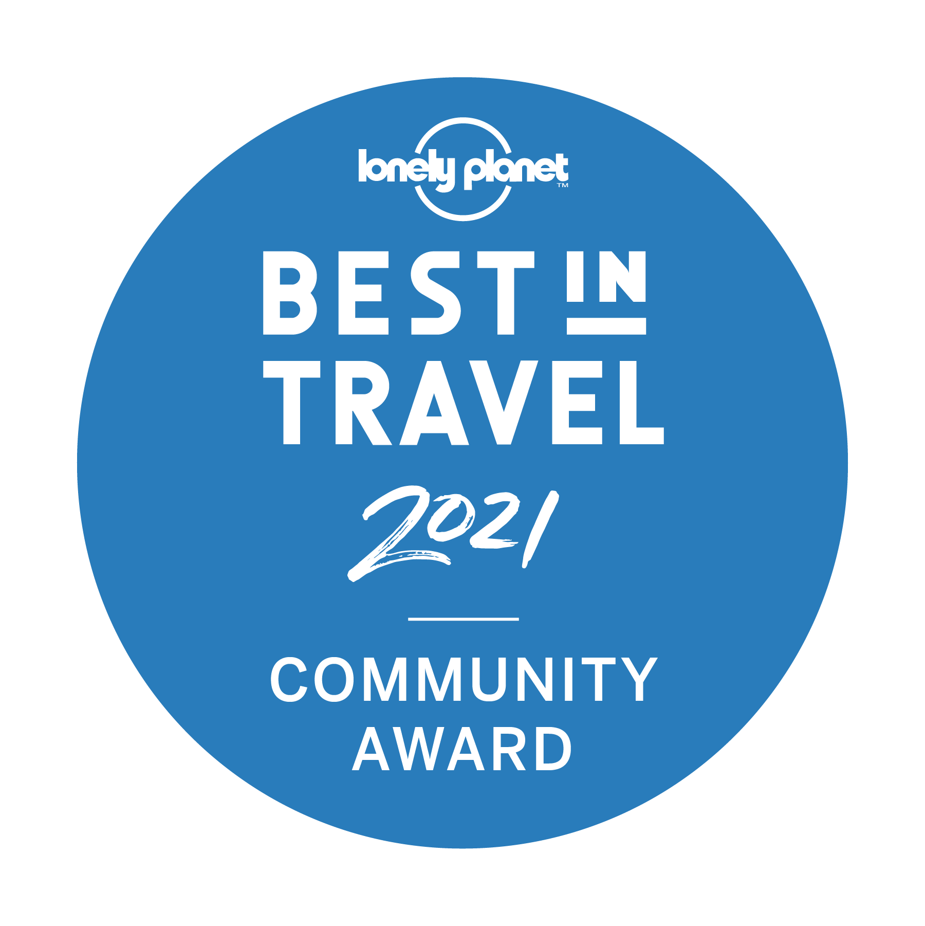 Best in Travel 2021 Award